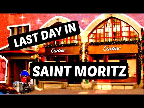 Last day in St Moritz - Travel diary #3