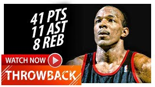 Throwback: Clyde Drexler Full Highlights vs Celtics (1992.03.15) - 41 Pts, 11 Ast, 8 Reb, EPIC!