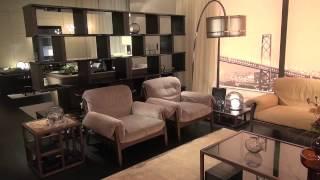 Итальянская мебель, кухни, светильники, аксессуары Fendi Casa, выставка iSaloni 2014 Милан Иркутск