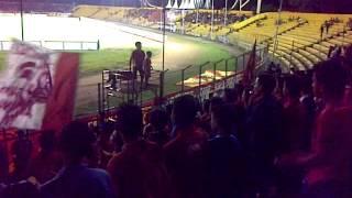 Persija Vs Semen Padang Di Stadion Agus Salim