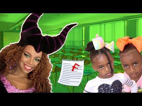 New Teacher At Toy School! Toy Teacher Maleficent