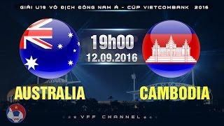 Australia U19 vs Cambodia U19 full match