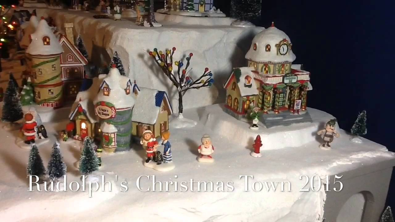 Rudolph Christmas Village.Rudolph S Christmas Village 2015