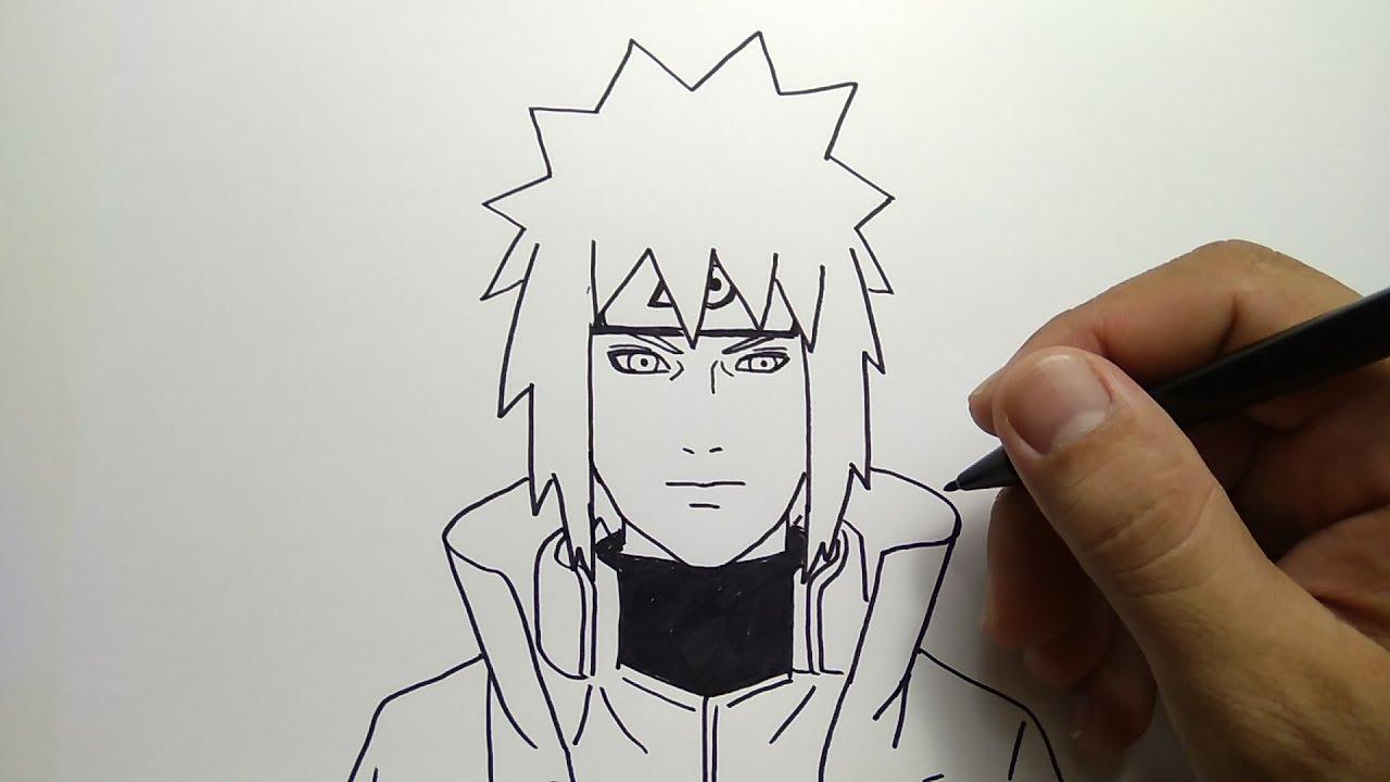 Cara Menggambar Minato Ayah Naruto How To Draw Narutos Father