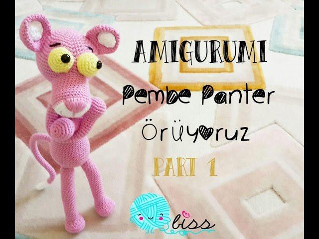 pantera rosa Amigurumi (tutorial schema)/How to crochet pink ... | 480x640
