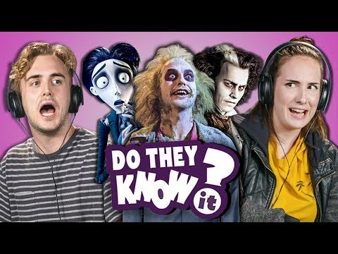 DO COLLEGE KIDS KNOW TIM BURTON MOVIES? (Sweeny Beetle Corpse)