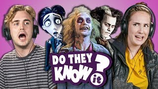 Download DO COLLEGE KIDS KNOW TIM BURTON MOVIES? (Sweeny Beetle Corpse) Mp3 and Videos