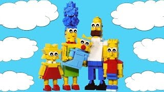 How To Build: Lego Simpsons