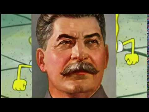 World War 2-Eastern Front, represented with Spongebob