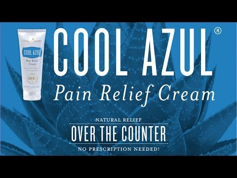 The Science Behind Young Living's Cool Azul Pain Relief Cream
