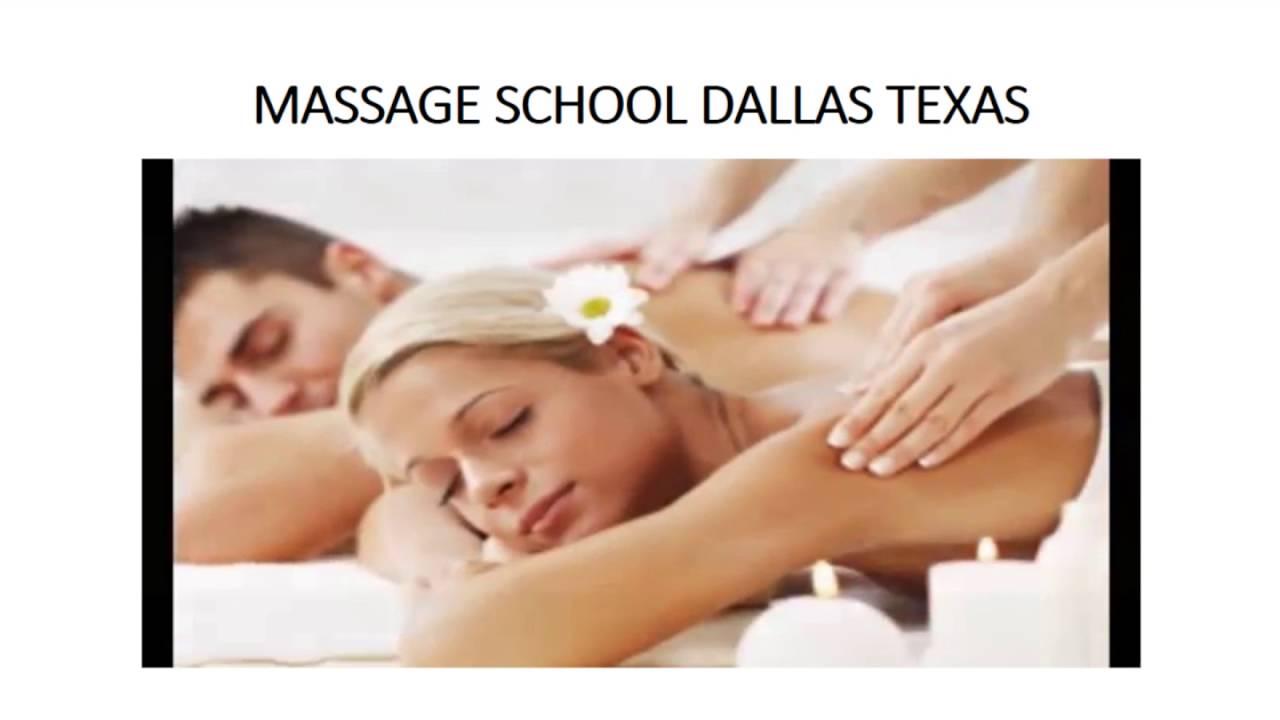 Massage School Dallas Texas Youtube