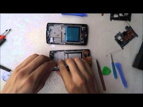 Sostituzione Display LCD e vetro Google Nexus 5