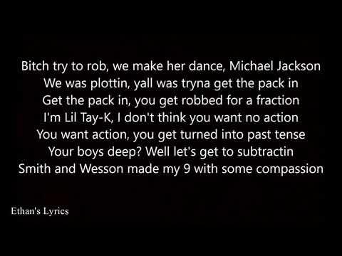 TAY-K - THE RACE (Karaoke) (Lyrics and Instrumental)