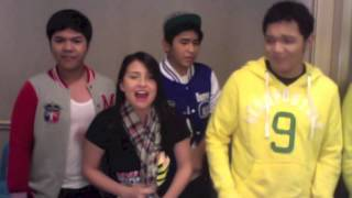 Rolling in the Deep (Acapella) - LUVU Acapella with Tippy Dos Santos