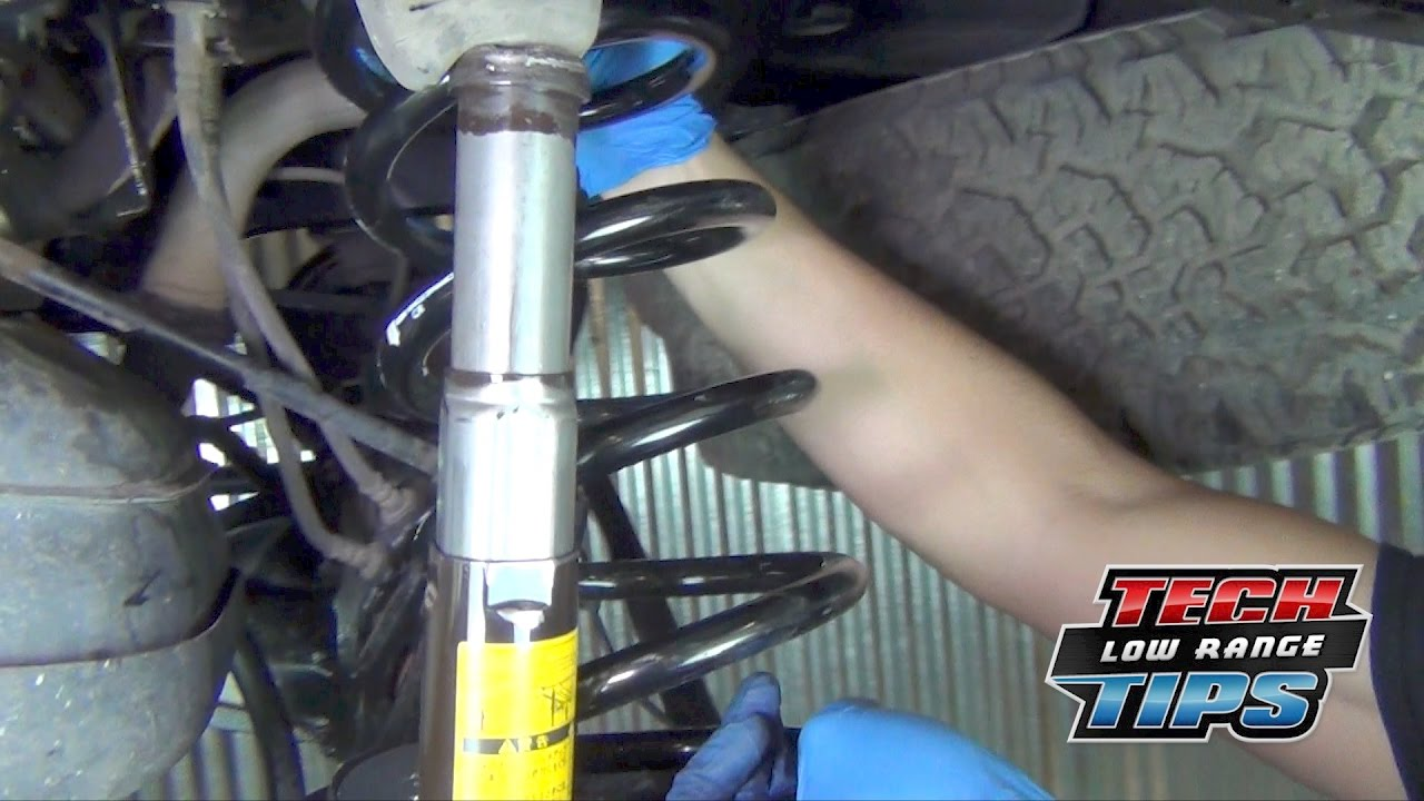 Easier way to Install Rear Coil Springs on a Toyota ...