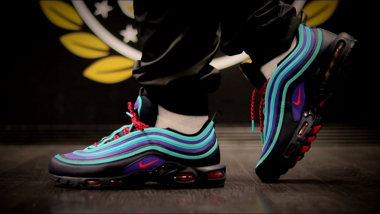 huge discount c0ab8 f5f3f AIR MAX PLUS 97 DYA + ON FOOT. THE AVE