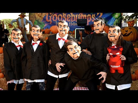 GOOSEBUMPS 2 Slappy Premiere Highlights - Haunted Halloween