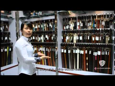 A Belt Factory Introduction Video of J.D. Leather Goods in China