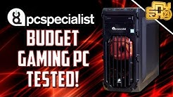 Budget Gaming PC Build from PC Specialist TESTED! - CAN IT RUN ARK & MORE? (Nvidia 1050ti Build)