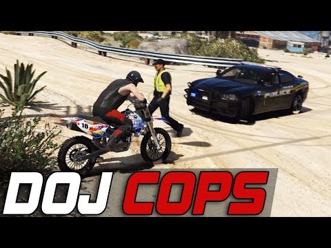 Dept. of Justice Cops #506 - Yelling At Me!