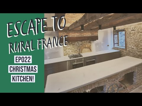 Escape to Rural France- Christmas kitchen-EP022