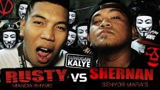 Repeat youtube video SUNUGAN KALYE - RUSTY vs SHERNAN   Mandaluyong