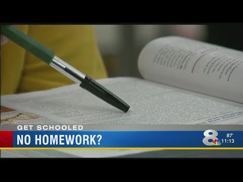 Florida county bans homework for elementary students