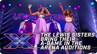 The Lewis Sisters do it like a brother singing Jessie J! | X Factor: The Band | Arena Auditions