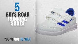 Top 10 Boys Road Running Shoes [2018]: Adidas altasport CF I–deportepara Shoes Children,