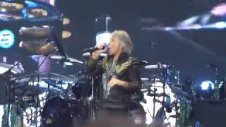 Bon Jovi Raise Your Hands live 2019 - Stavanger Norway