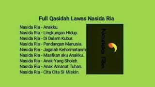 Full Lagu Qasidah Lama Nasida Ria Terbaik.