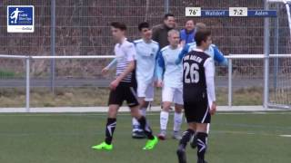 B-Junioren - FC Astoria Walldorf vs. VfR Aalen 7-2 - Yannic Elias David