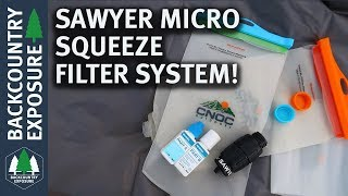 My (Current) Go To Water Filter System | Sawyer Micro Squeeze