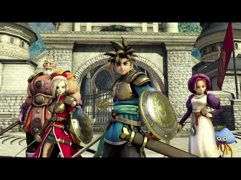 Dragon Quest Heroes Trailer (PS4) (HD)