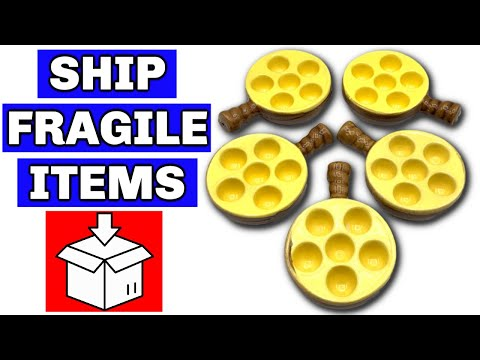 How to Pack Breakable Items for Shipping - Ebay Shipping Tips 2019 - Ship Fragile Items