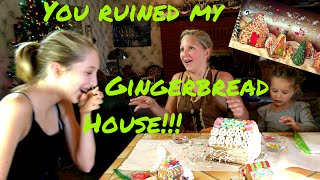 Gingerbread houses with Sign Post Kids!