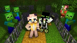 1 NACHT IM MONSTER ZOO! ✿ Minecraft [Deutsch/HD]