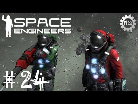 #24 Space Engineers: Let's Play Coop/Multiplayer - Konstruktion des Torpedobombers