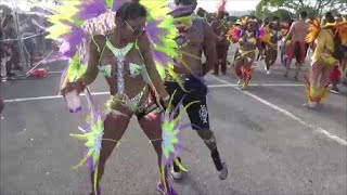MIAMI WEST INDIAN CARNIVAL 2018 - CARIBBEAN ISLANDS GIRLS MUSIC DANCE PARTY PARADE MIAMI CARNIVAL 2