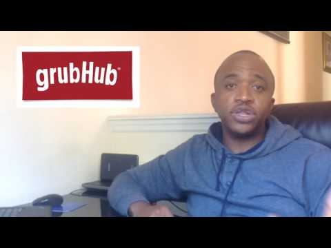 GrubHub Delivery Driver signup process and my experience
