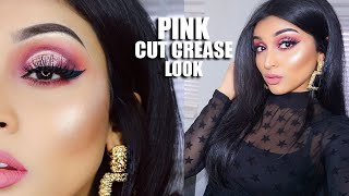 PINK CUT CREASE LOOK | LABEAUTYWORLD