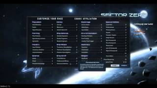 Stardrive 2 Sector Zero - Complete Guide 101 - Setting up your Game