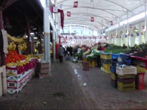 Tunisia Travel チュニジア チュニスの街並み The streets of Tunis