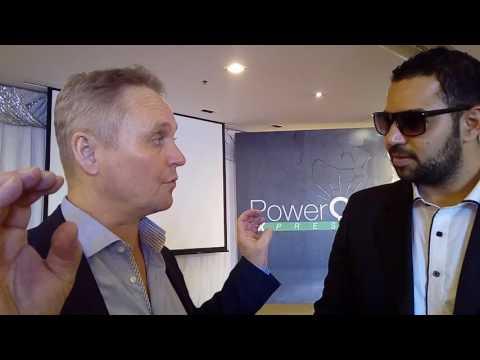 EXERGONIX Bangkok Thailand interview Mr/ Arve CEO of PowerOnExpress