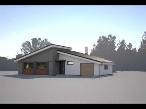 Projekty Rodinnych Domov Euroline Bungalov 1681 Youtube