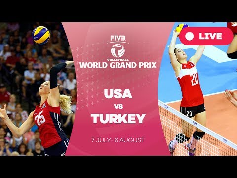 USA v Turkey - Group 1: 2017 FIVB Volleyball World Grand Prix