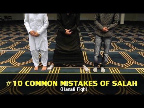 [PART 1] #10 MOST COMMON MISTAKES OF SALAH (HANAFI)