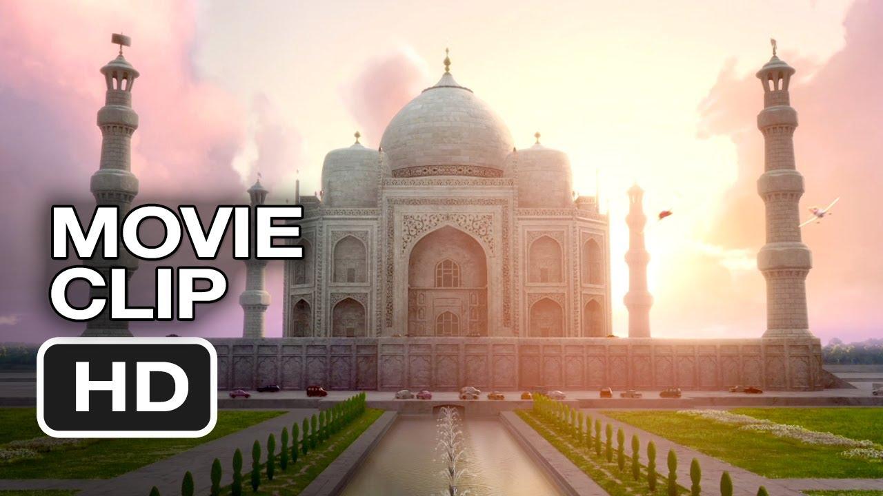 Planes Movie CLIP - Dusty Flies To Taj Mahal (2013) - Disney Animated Movie  HD