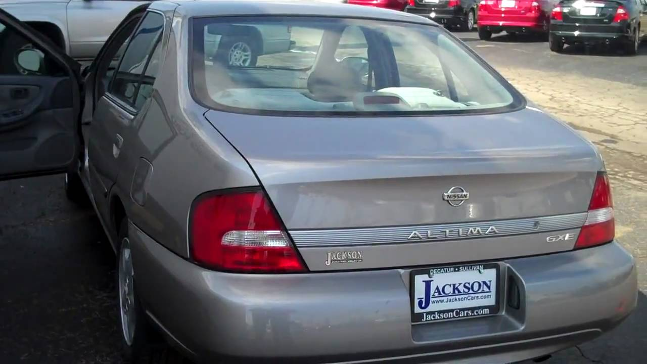 Jackson Ford Decatur Il >> 2000 Nissan Altima GXE Decatur Illinois IL Jackson Ford ...