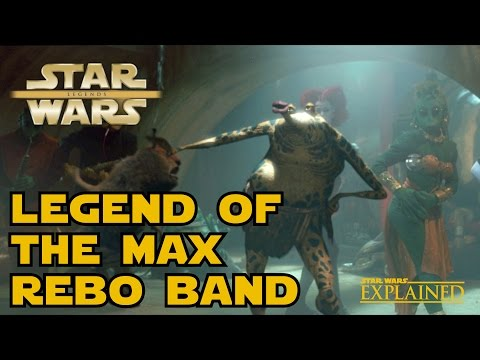 The Legend of the Max Rebo Band - Star Wars Explained